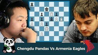 PRO Chess League Finals: Chengdu Pandas Vs Armenia Eagles