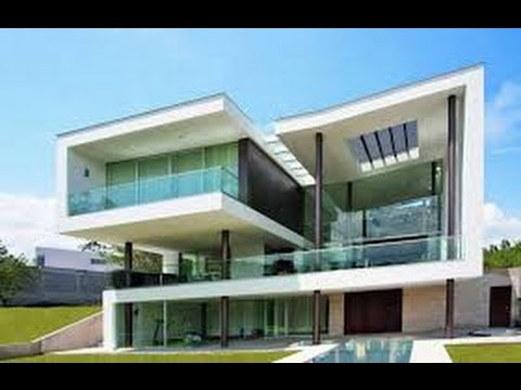 Modern architecure in minecraft casa moderna youtube for Pareti colorate casa moderna