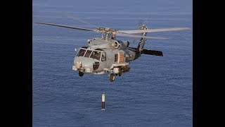 Dangerous Waters - best naval sims - US Navy MH-60 Helicopter Hunting Chinese Nuclear Submarine
