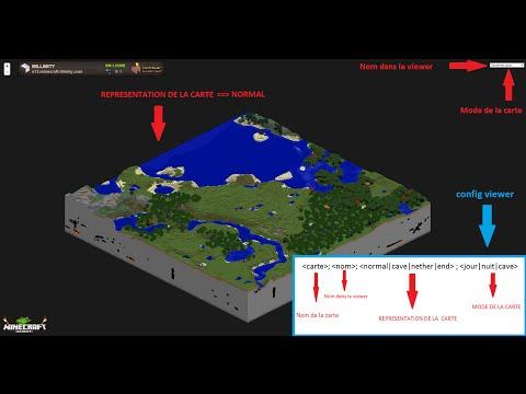 Configurer Le Viewer HD D'un Serveur Sur MINECRAFT-ILLIMITY.COM