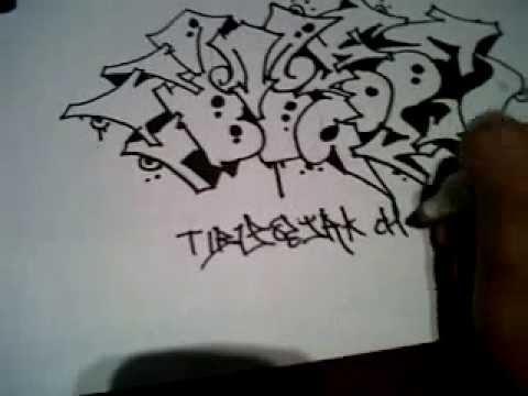 Graffiti Art Above Paper Youtube
