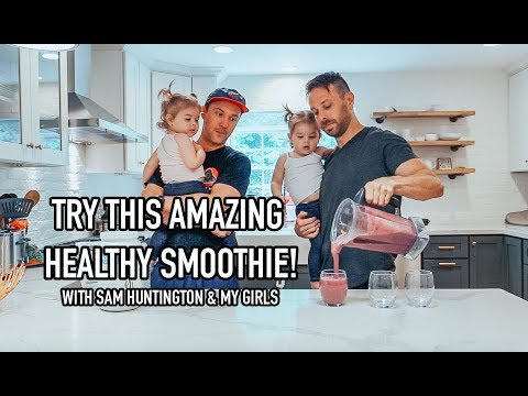 The BEST & Easy Smoothie Recipes  Healthy Vegan and Paleo! w Sam Huntington
