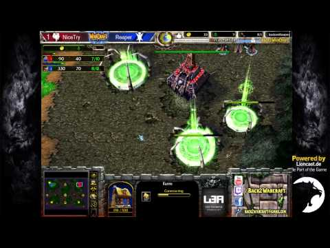 Showmatch: NiceTry vs. BodomReaper