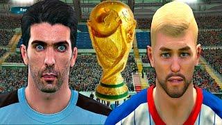BRADISSON VS LA MURALLA ITALIANA!!!!   PES 2017 Ser una leyenda #40