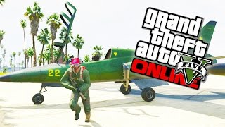 GTA 5 Flight School DLC - All Jets, Planes, Helicopters, Parachutes & More! (GTA 5 DLC Gameplay)