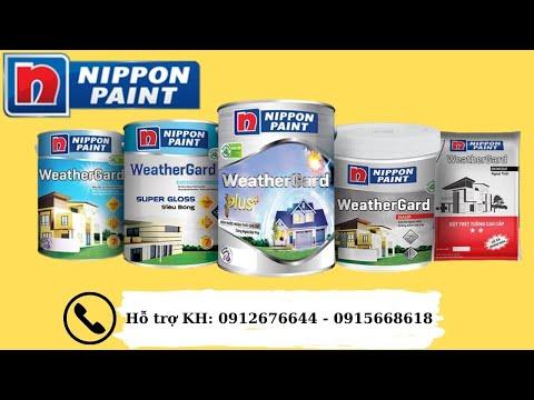 giá sơn nội thất nippon