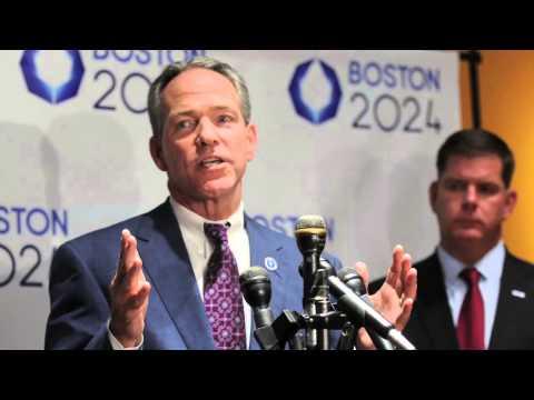 Mayor Marty Walsh on the Olympic bid for Boston