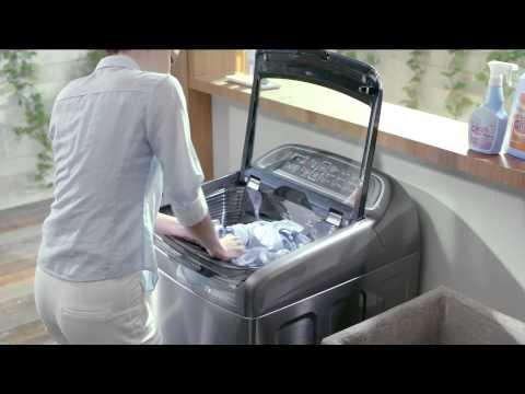 Samsung Active Dual Wash Washing Machine Youtube