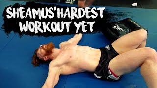 WWE Sheamus' Hardest Workout Yet with John Kavanagh