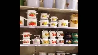 Обзор эмалированной посуды в торговом доме