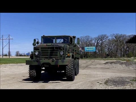 M925 Military 6X6 Cargo Truck With Winch For Sale Oshkosh Equipment Sales