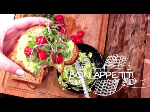 Vegan Avocado Toast Recipe – How To Make a Healthy Breakfast Avocado Sandwich | The Food Nut