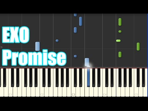 EXO Promise Piano Tutorial