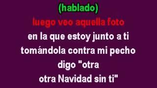 Navidad Sin Ti Los Bukis karaoke