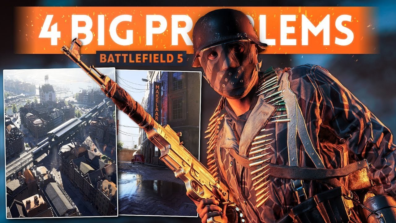 WHAT I DON'T LIKE About Battlefield 5 (4 *BIG* Issues That Need To Be Fixed in BF5)