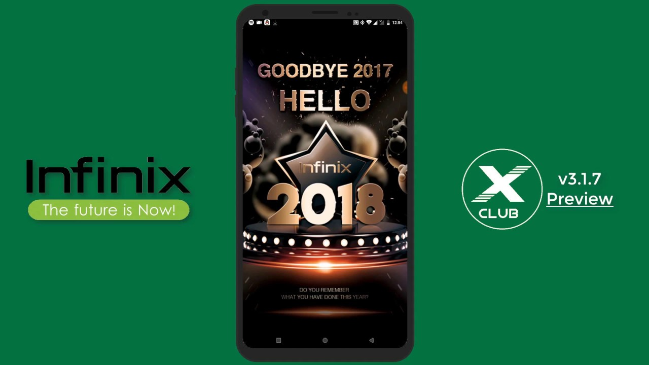 Infinix XClub v3 1 7 App Preview - Update 28/03/2018