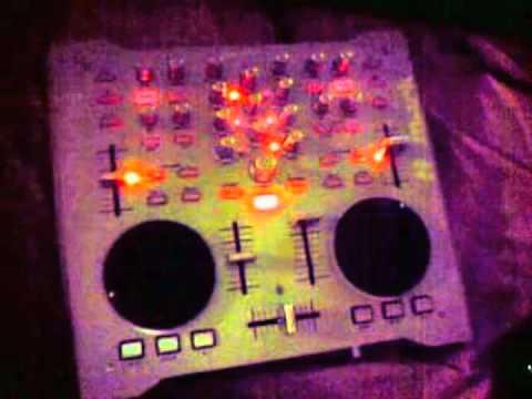 Numark Omni Control disco lights