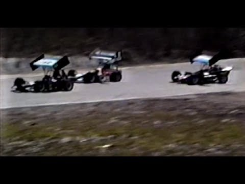 RARE VERY FIRST OFFICIAL 350 SUPERMODIFIED HEAT & RACE @ HUDSON INT, SPEEDWAY APRIL 28, 1996
