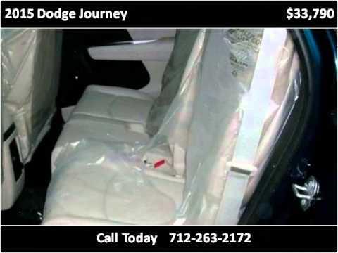 2015 Dodge Journey New Cars Denison Ia Youtube