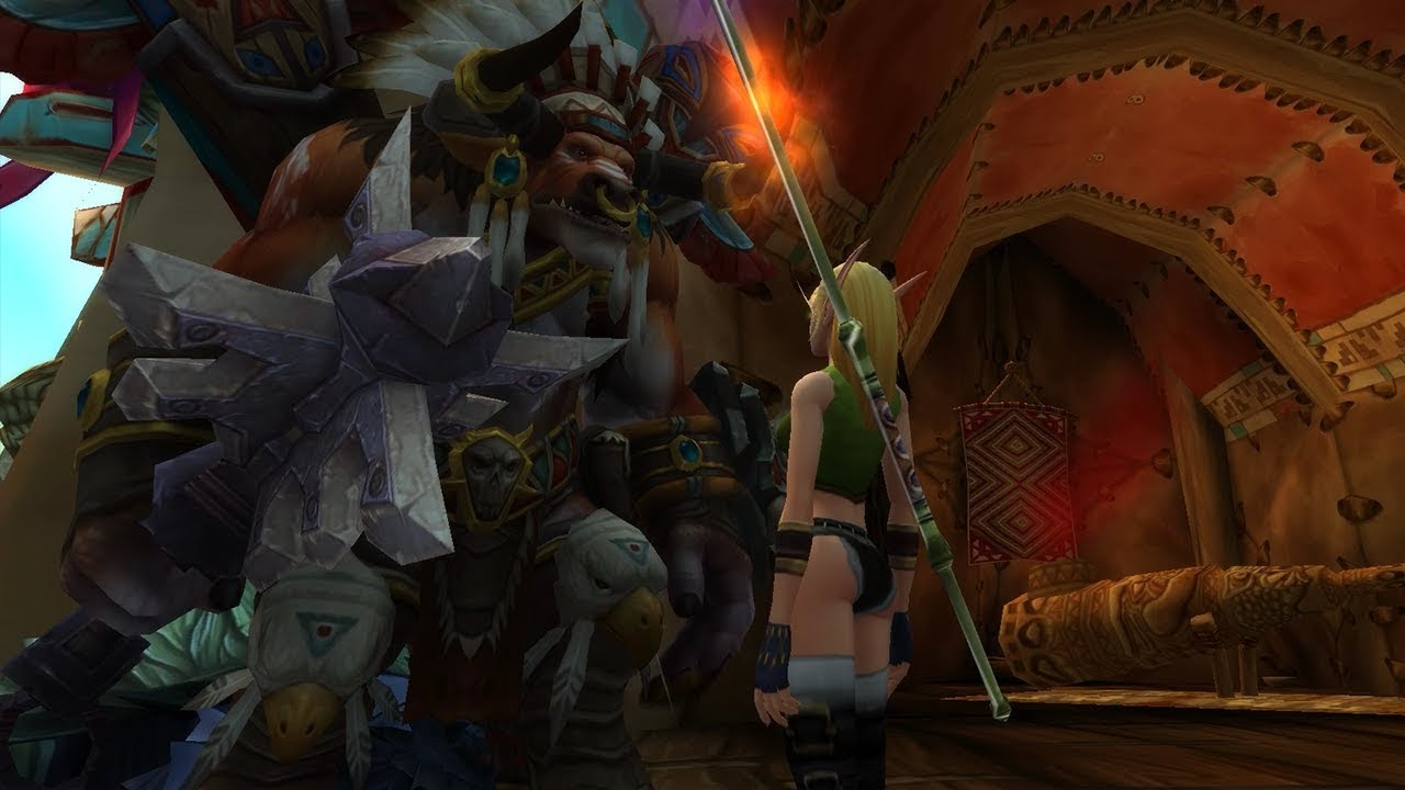 World Of Warcraft Quest Info A Gift For The High Chieftain For Horde