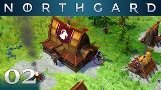 NORTHGARD #02 | Gefährliche Bären im Dorf der Wikinger | Multiplayer Let's Play Gameplay Deutsch thumbnail