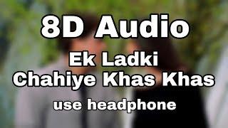 Ek Ladki Chahiye Khas Khas - 8D Song | Govinda, Susmita Sen | 8D Bollywood