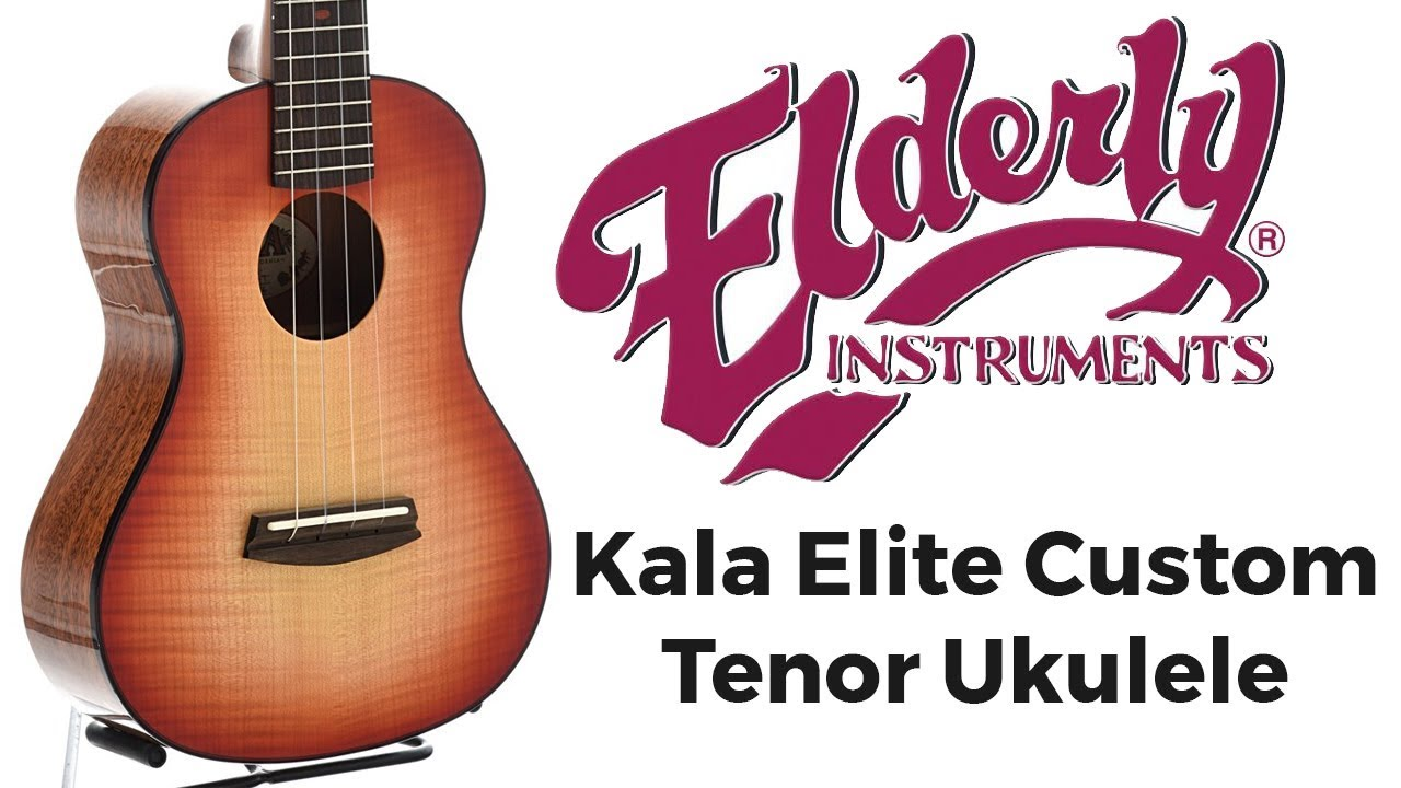 Kala Elite Custom Tenor Ukulele | Elderly Instruments