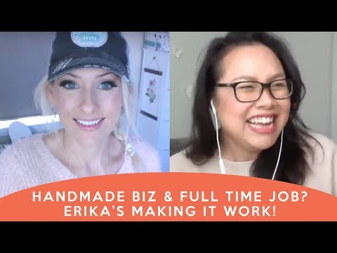 Handmade Business Plus Full-Time Job - Can it be done? - how to start a home business, reviews