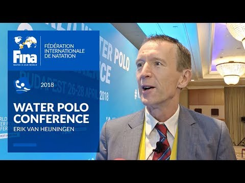 Erik Van Heijningen about importance of innovating Water Polo   FINA World Water Polo Conference
