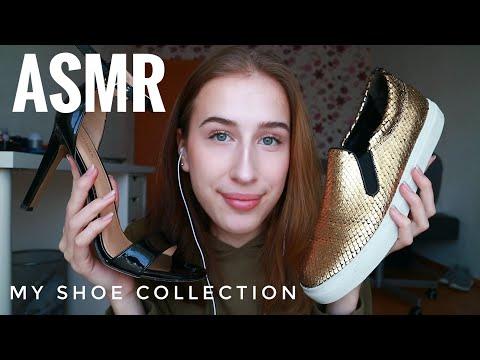ASMR | German | My Shoe Collection👠