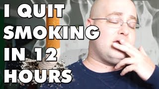 HOW TO QUIT SMOKING IN 12 HOURS THE EASY METHOD
