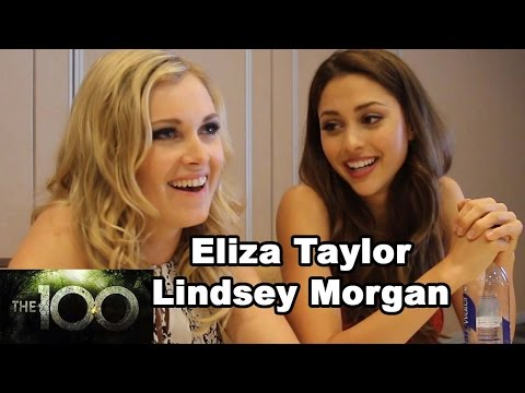 The 100  Eliza Taylor & Lindsey Morgan