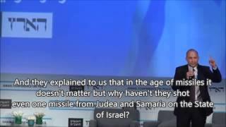 Naftali Bennett in the Leftist Lion's Den (with English subtitles)