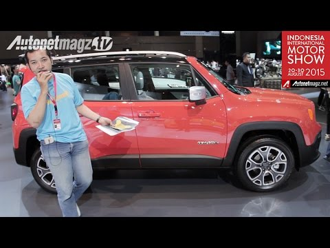 1st impression review Jeep Renegade from IIMS 2015