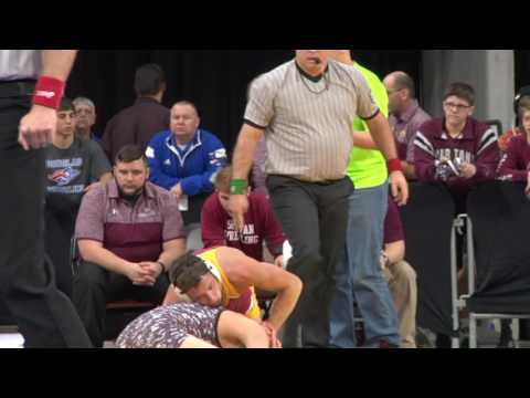 RAW VIDEO 2017 State A Wrestling Highlights