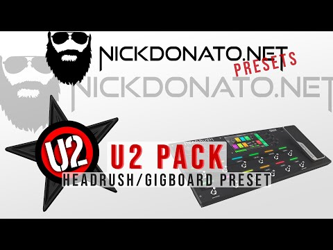 Presets and Patches for Headrush Pedalboard and Gigboard