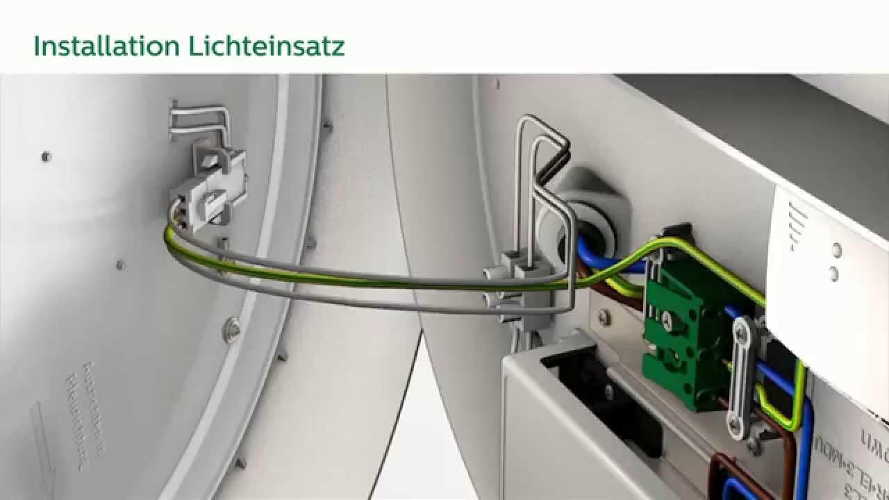 Philips CoreLine LED Wand und Deckenleuchte Rund - Montage ...