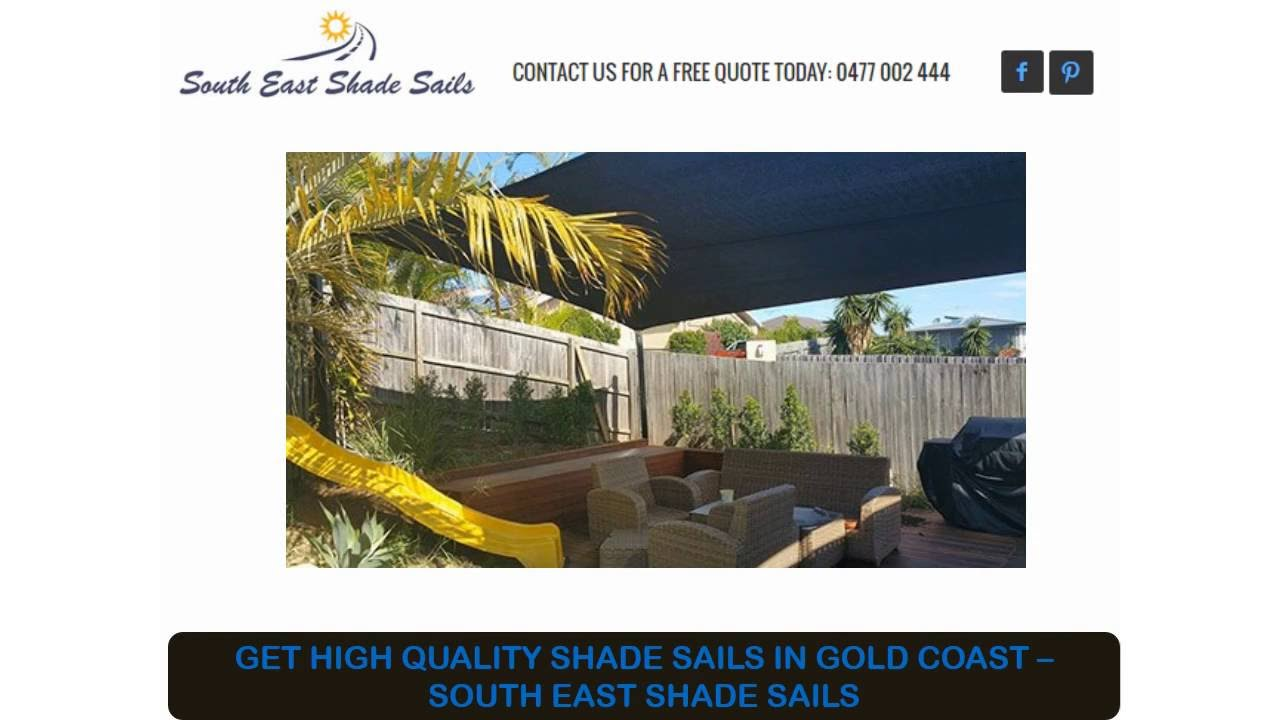 Get High Quality Shade Sails In Gold Coast South East Shade Sails