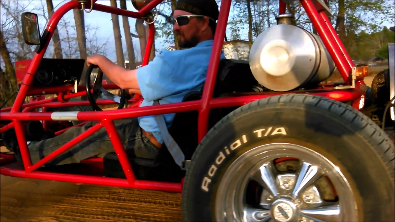 Insane Street Legal Dune Buggy With A Car Engine