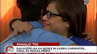 kaboses ni Karen Carpenter  Davaoeño