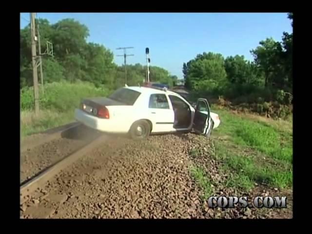 Stuck on the Tracks, Officer Joe Morgan, COPS TV Show
