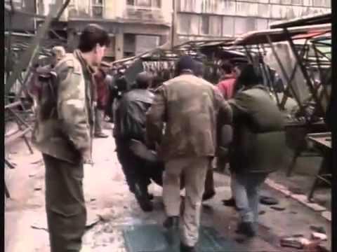 BBC Death of Yugoslavia : Markale Massacre in Sarajevo 1994