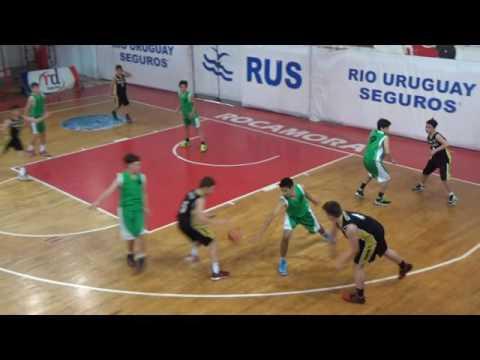 Liga provincial sub 13. Zaninetti vs BH (Gualeguay)