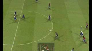 Pro Evolution Soccer 2009 Demo gameplay, goals and more