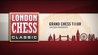 Grand Chess Tour - London Chess Classic 2015 Round 2