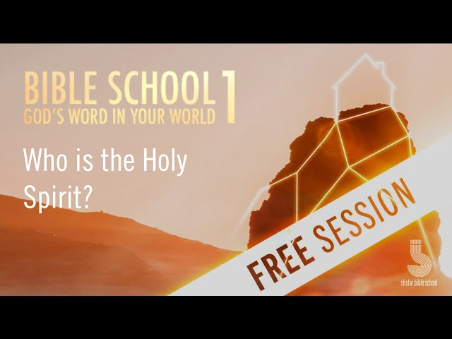 Who is the Holy Spirit? (free session)