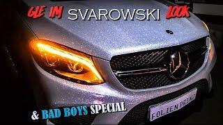 MERCEDES GLE im SWAROVSKI LOOK + PORSCHE | BAD BOYS Movie Special