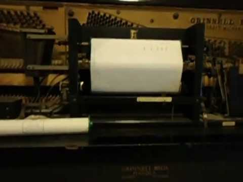 How The Pneumatic Piano Works