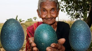 Emu eggs Recipe | Health Eggs Curry | Delicious Emu Curry | Country  foods