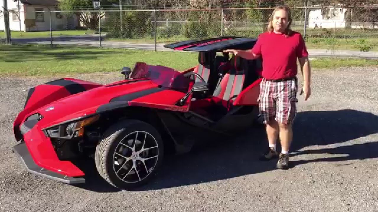 madstad slingshot stinger roof top final version youtube - Polaris Slingshot Roof